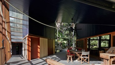 SPACED | 'Tribulation House' Would Make For A Lush, Hidden Escape In Our Own Rain Forest