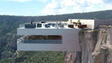 RESTAURANT PORN | A Fantastical Eatery Locked High Into A Mexican Canyon Cliff Face