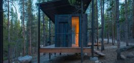 SPACED | Denver Grad Students' Micro Cabins In The Forest Would Suit BCs Own Wilderness