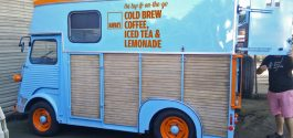 DRINKER | Kafka's Coffee & Tea Goes Mobile With Nitro Cold Brew-Dispensing Citroen Van