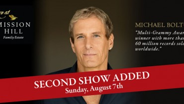 GOODS | Summer Concert Series At Mission Hill Family Estate Adds More Michael Bolton
