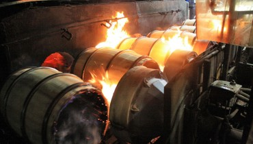 DRINKER | Bourbon Barrel-Making Process Filmed At 'Kelvin Cooperage' In Louisville, KY