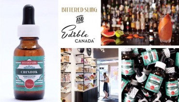 "GOODS | Edible Canada Announces Limited-Release ""Chinook"" Bitters From Bittered Sling"