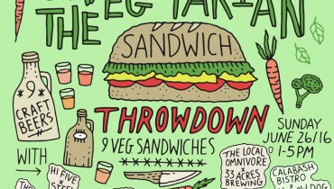 HEADS UP | Sandwich & Beer Throwdown All Set For Gastown's Portside Pub On June 26th
