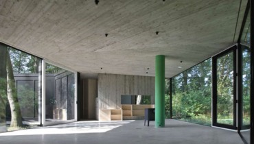 SPACED | Hexagonal Concrete & Glass House In Belgium Would Suit Cowichan Valley Quiet