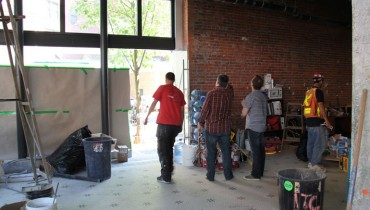 #TBT | Five Years Ago This Week, Inside The Construction Of Hastings' Bitter Tasting Room
