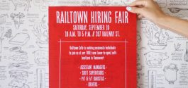 OPPORTUNITY KNOCKS | Many Jobs Open As Railtown Cafe Looks To Expand Talented Team