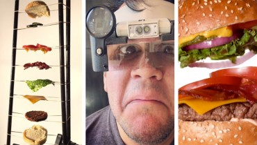 SMOKE BREAK #1179 | A Meticulous, Robot-Assisted Method Of Filming A Burger Cascade