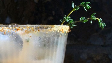 AWESOME THING WE DRANK #710 | Summer Thyme Refreshment At 'Cabrito' On The Drive