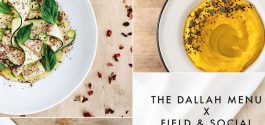 HEADS UP | Field & Social To Host 'The Dallah Menu' For One-Night-Only Lebanese Cafeteria