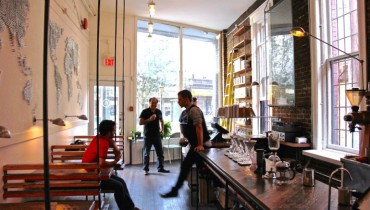 #TBT | 35 Photos From Inside Revolver Coffee – Three Days Before It Opened Five Years Ago