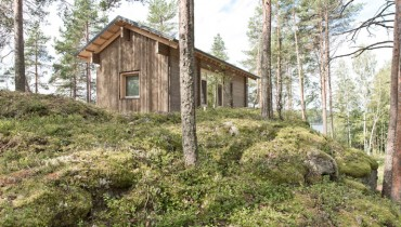 SPACED | Finnish Lakeside Cabin Would Make For A Cool, Cozy, Contemplative Island Retreat