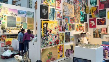 SEEN IN VANCOUVER #581 | Student Art Sale Comes Together At ECUAD On Granville Island