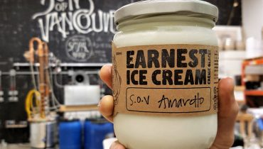 GOODS | Sons Of Vancouver & Earnest Ice Cream Collaborate Again On Popular Amaretto