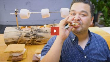 COOL THING WE WANT #492 | Hand-Turned Mini Rotisserie For Making S'Mores At Home