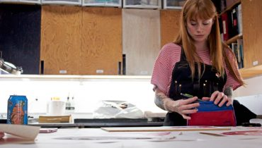 VANCOUVERITES | Five Minutes With Jackie Nicholas At The Dundarave Print Workshop