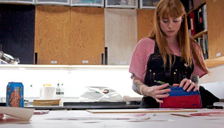 VANCOUVERITES | Five Minutes With Jackie Nicholas At The Dundarave Print Workshop