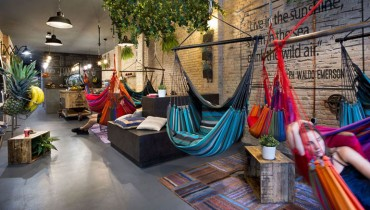 VANCOUVER WOULD BE COOLER IF #279 | It Had A Cocktail Bar Outfitted With Hammocks