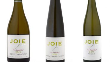 GOODS | In Anticipation Of Spring, JoieFarm Introduces Three 'En Famille' Reserve Wines
