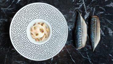 GOODS | Chef Stefan Hartmann Reimagines A Classic Mackerel Dish At Gastown's 'Bauhaus'
