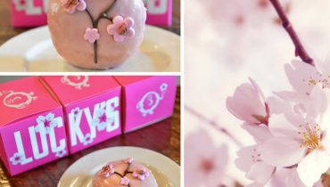 GOODS | Lucky's Doughnuts Creates A Special Sakura Treat In Support Of Dining Out For Life