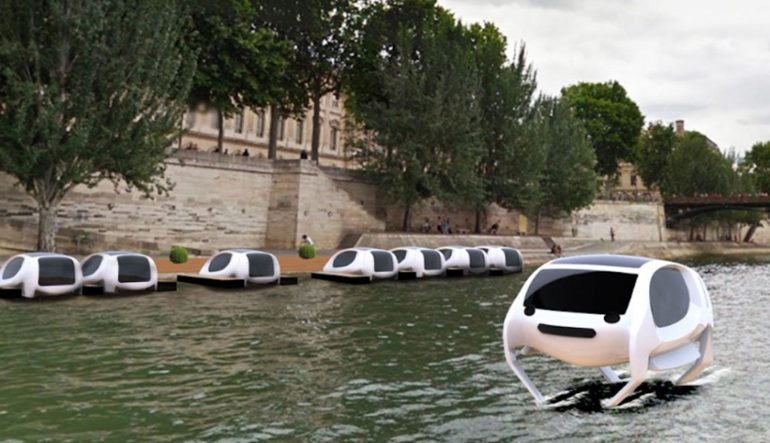 VANCOUVER WOULD BE COOLER IF #284 | False Creek Had Paris' Sweet New Water Taxis
