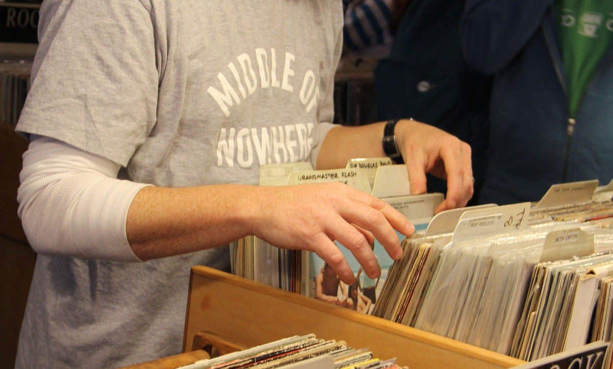 Local vinyl shops gear up for Record Store Day