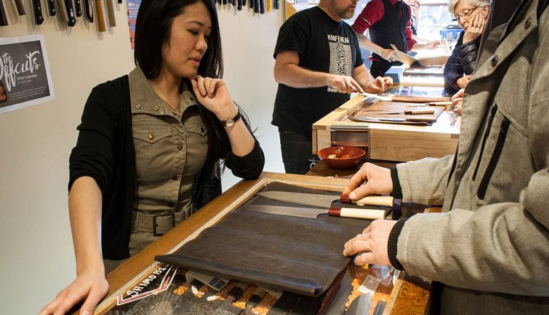 GOODS | Major Garage Sale Now Underway At 'Knifewear' On Main St. — Runs Until April 30