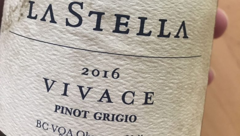 MESSAGE IN A BOTTLE | On The Summertime Grigio Brightness Of La Stella's 2016 'Vivace'