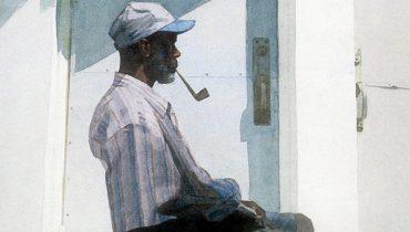 SMOKE BREAK #1201 | Artist Mario Robinson Waxes Philosophical On The Creative Process